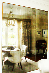 Antiqued Mirror Gl Atlanta Residential Wall Hung Inset
